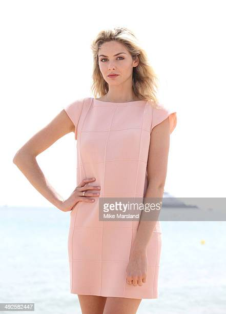 Tamsin Egerton attends the 'Queen Country' photocall at the 67th Annual Cannes Film Festival on May 21 2014 in Cannes France