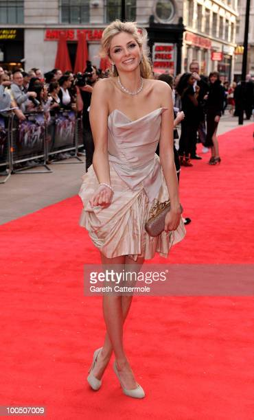Tamsin Egerton attends the World Premiere of 4 2,1 at the Empire Leicester Square on May 25, 2010 in London, England.