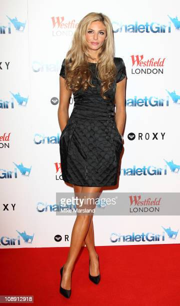Tamsin Egerton attends the world premiere of Chalet Girl at Vue Westfield on February 8, 2011 in London, England.