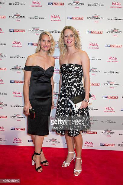 Tamsin Greenway and Karen Pickering attends the The Sunday Times and Sky Sports Sportswomen of the Year Awards in association with Vitality on...