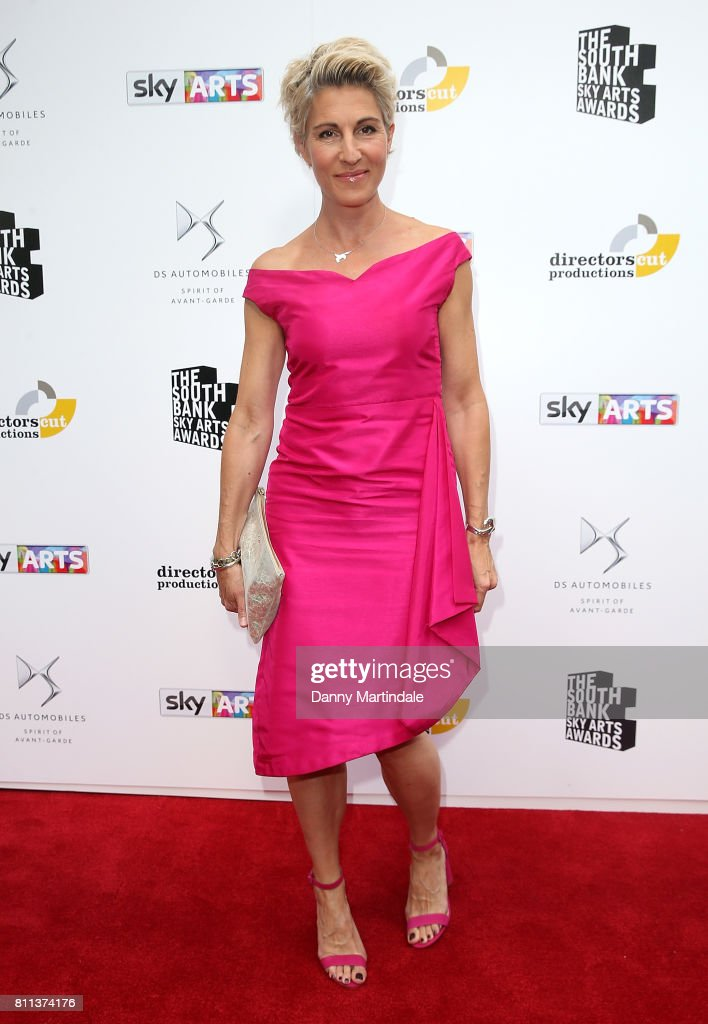 Tamsin Greig attending The Southbank Sky Arts Awards 2017 at The Savoy Hotel on July 9, 2017 in London, England.