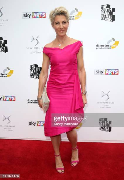 Tamsin Greig attending The Southbank Sky Arts Awards 2017 at The Savoy Hotel on July 9 2017 in London England