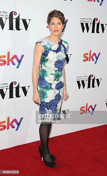 Tamsin Greig attends the Sky Women In Film and Television Awards luncheon at Hilton Park Lane on December 6 2013 in London England