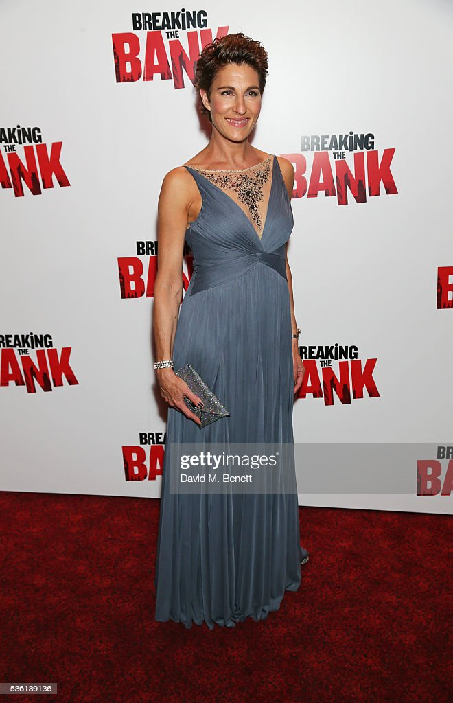 Tamsin Greig attends the UK gala screening of 'Breaking The Bank' at Empire Leicester Square on May 31, 2016 in London, England.