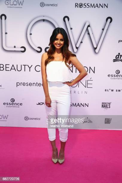 TamTam attends the GLOW The Beauty Convention on May 13 2017 in Duesseldorf Germany