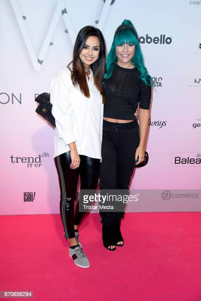 Tamtambeauty and Dagi Bee attend the GLOW The Beauty Convention at Station on November 4 2017 in Berlin Germany