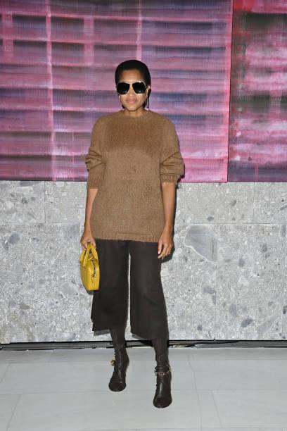 ITA: Max Mara - Front Row - Milan Fashion Week - Spring / Summer 2022