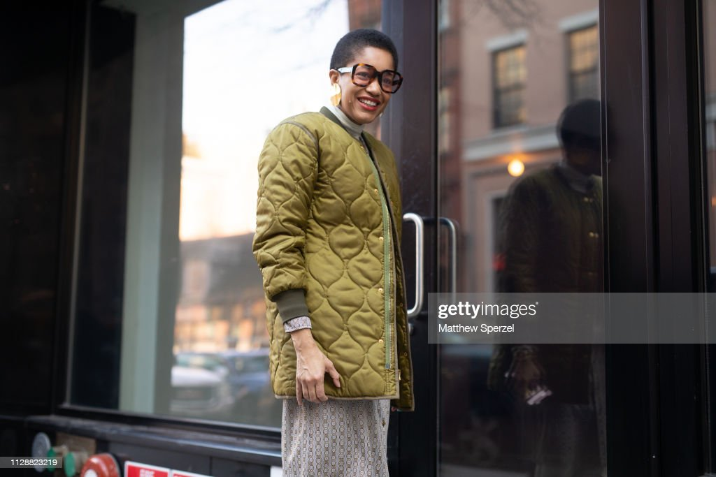 Street Style - New York Fashion Week February 2019 - Day 4 : Photo d'actualité
