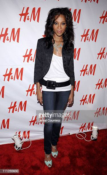 """Tamyra Gray during David LaChapelle, H&M and Mauritz Launch """"&DENIM"""" Jeans Collection at Splashlight Studios in New York City, New York, United..."""