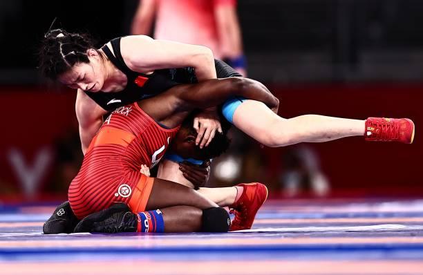 JPN: Wrestling - Tokyo 2020 Olympics - Day 10