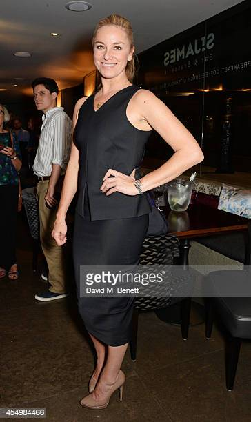 """Tamzin Outhwaite attends an after party celebrating the press night performance of """"Breeders"""" at the St James Theatre on September 8, 2014 in London,..."""