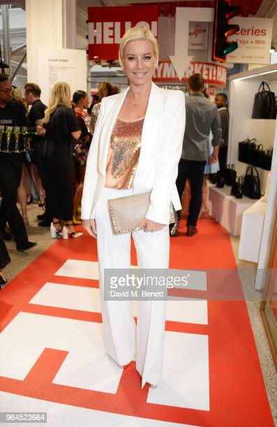 Tamzin Outhwaite attends Hello Magazine's 30th anniversary party at Dover Street Market on May 9, 2018 in London, England.