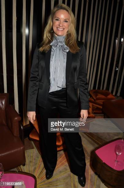 Tamzin Outhwaite attends the Vanity Fair EE Rising Star Award Party ahead of the 2020 EE BAFTAs at The Standard London on January 22, 2020 in London,...
