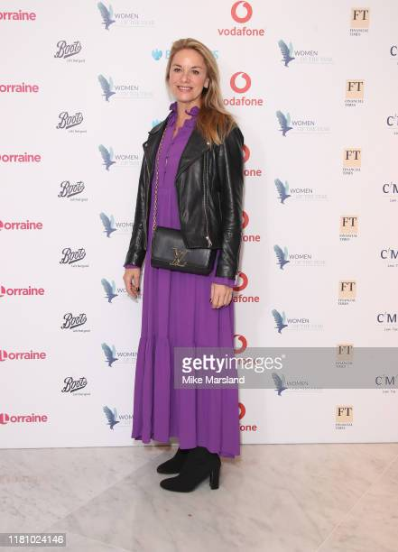 Tamzin Outhwaite attends the Woman Of The Year Awards Lunch at Royal Lancaster Hotel on October 14 2019 in London England