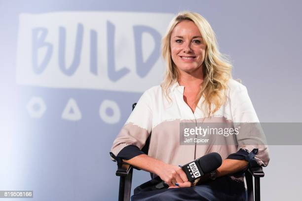 Tamzin Outhwaite during a BUILD event at AOL London on July 20, 2017 in London, England.