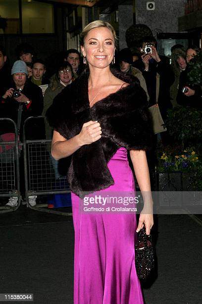 Tamzin Outhwaite during Laurence Olivier Awards - Arrivals at London Hilton in London, Great Britain.