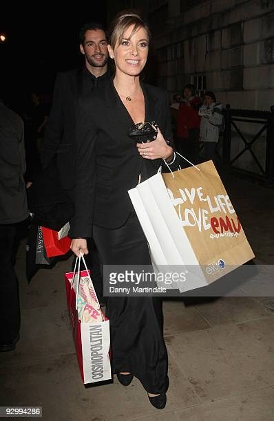 Tamzin Outhwaite leaves the Cosmopolitan Ultimate Women Of The Year Awards at Banqueting House on November 11, 2009 in London, England.