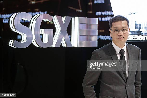 Tan Boon Gin chief regulatory officer of Singapore Exchange Ltd poses for a portrait in Singapore on Monday Nov 2 2015 Singapore's stock exchange is...