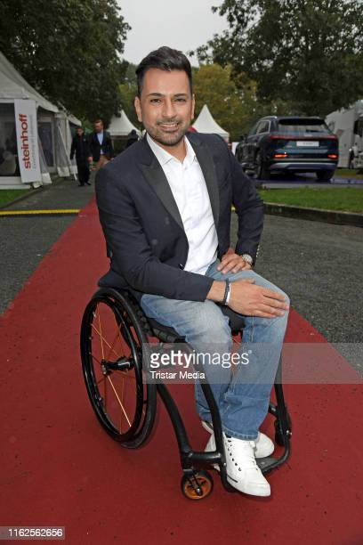 Tan Caglar attends the Audi Ascot Race Day at Neue Bult horse racing track on August 18 2019 in Langenhagen Germany