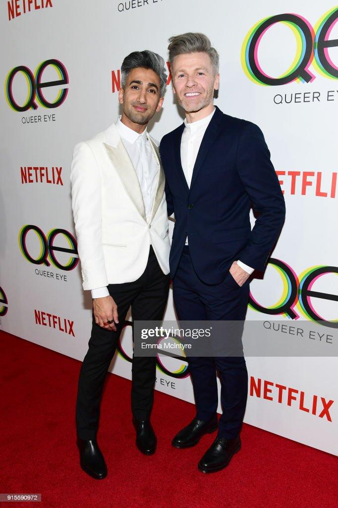 "Premiere Of Netflix's ""Queer Eye"" Season 1 - Red Carpet : News Photo"