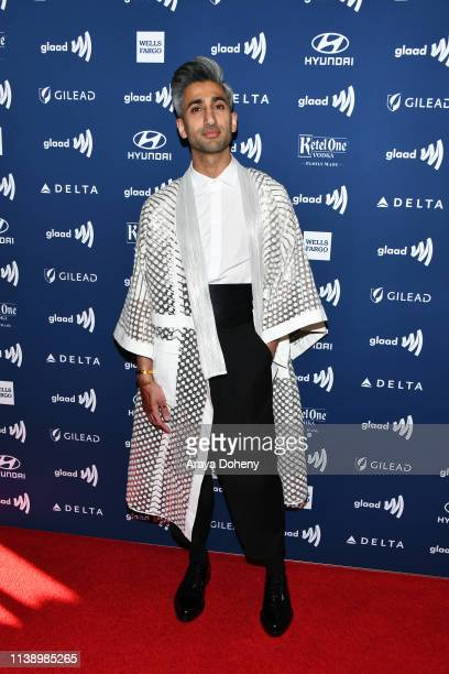 Tan France at the 30th Annual GLAAD Media Awards at The Beverly Hilton Hotel on March 28, 2019 in Beverly Hills, California.