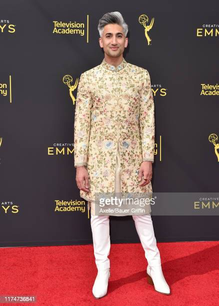 Tan France attends the 2019 Creative Arts Emmy Awards on September 14, 2019 in Los Angeles, California.
