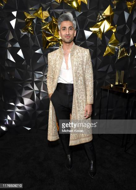 Tan France attends the 2019 Netflix Primetime Emmy Awards After Party at Milk Studios on September 22, 2019 in Los Angeles, California.