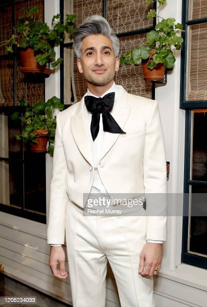 Tan France attends the 2020 Netflix Oscar After Party at San Vicente Bugalows on February 09, 2020 in West Hollywood, California.