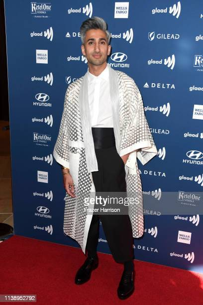Tan France attends the 30th Annual GLAAD Media Awards at The Beverly Hilton Hotel on March 28 2019 in Beverly Hills California