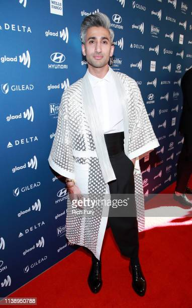 Tan France attends the 30th Annual GLAAD Media Awards Los Angeles at The Beverly Hilton Hotel on March 28, 2019 in Beverly Hills, California.