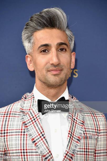 Tan France attends the 70th Emmy Awards at Microsoft Theater on September 17, 2018 in Los Angeles, California.