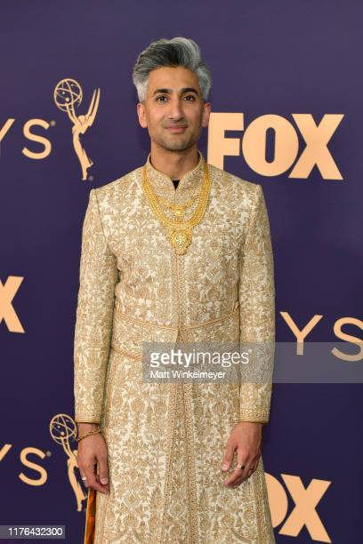 Tan France attends the 71st Emmy Awards at Microsoft Theater on September 22, 2019 in Los Angeles, California.