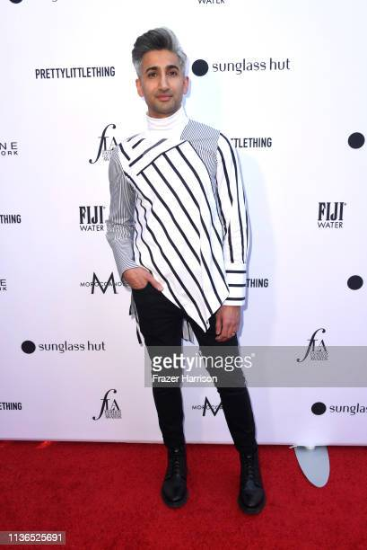 Tan France attends The Daily Front Row's 5th Annual Fashion Los Angeles Awards at Bevserly Hills Hotel on March 17 2019 in Beverly Hills California