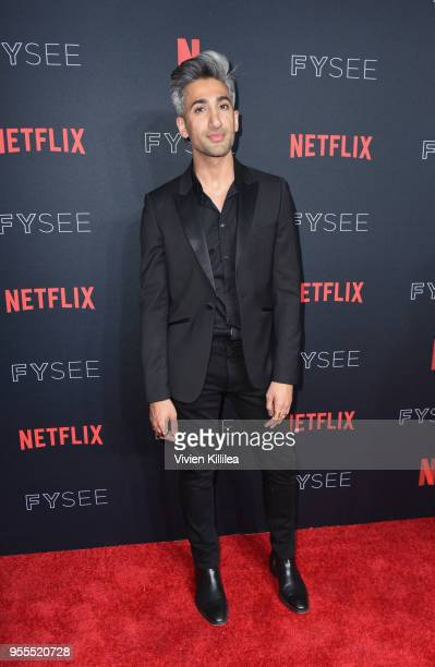 Tan France attends the Netflix FYSee Kick Off Party at Raleigh Studios on May 6, 2018 in Los Angeles, California.