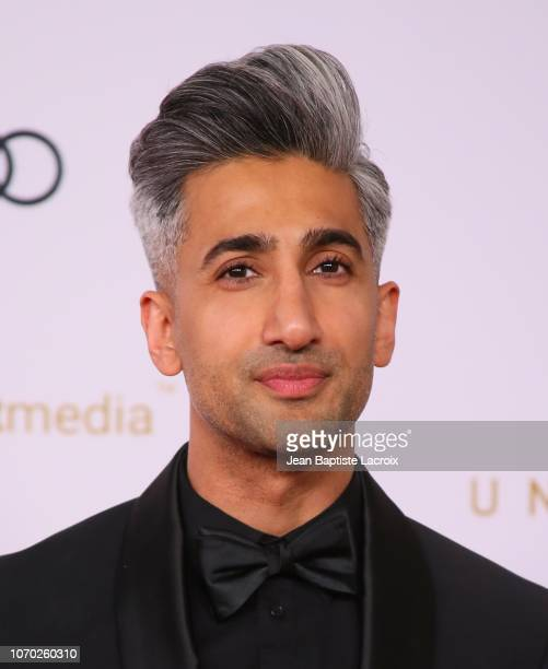Tan France attends the Unforgettable Gala 2018 at The Beverly Hilton Hotel on December 8, 2018 in Beverly Hills, California.