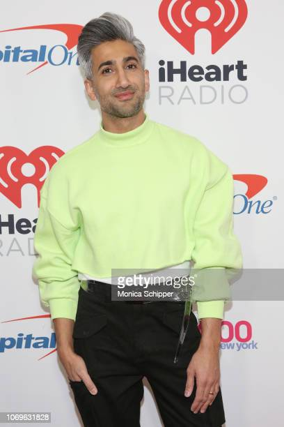 Tan France attends Z100's Jingle Ball 2018 at Madison Square Garden on December 7, 2018 in New York City.