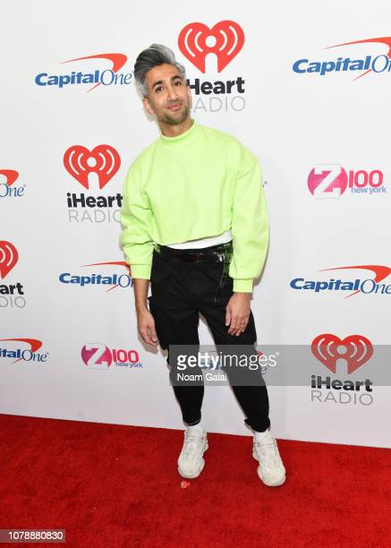 Tan France attends Z100's Jingle Ball 2018 at Madison Square Garden on December 07, 2018 in New York City.
