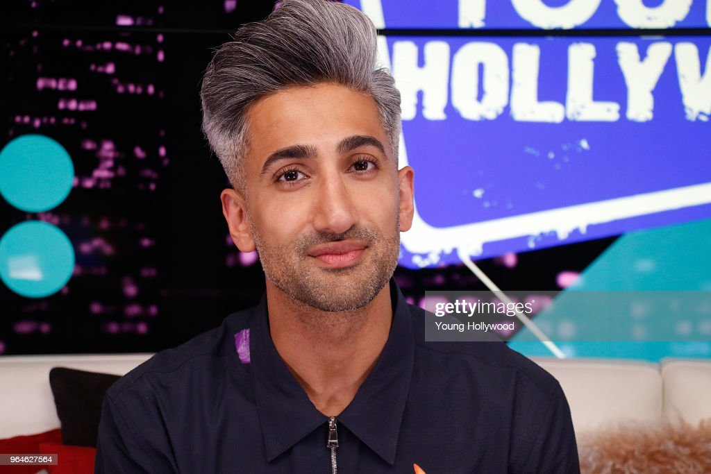 """""""Queer Eye"""" Fab Five Visit Young Hollywood Studio : News Photo"""