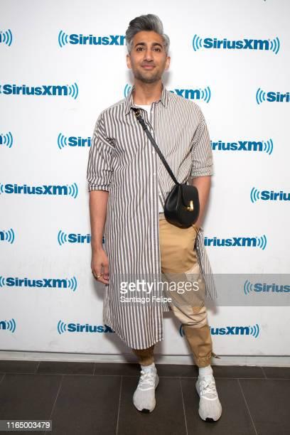 Tan France visits SiriusXM Studios on July 29, 2019 in New York City.