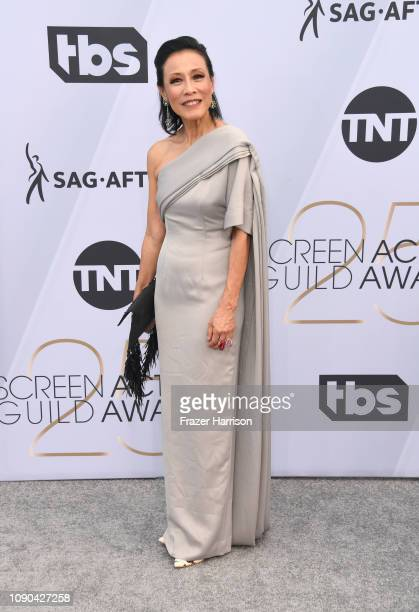 Tan Kheng Hua attends the 25th Annual Screen ActorsGuild Awards at The Shrine Auditorium on January 27 2019 in Los Angeles California