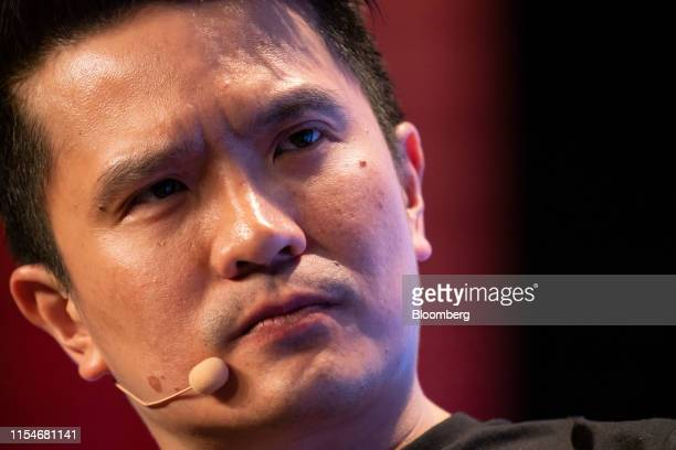 Tan Min-Liang, chief executive officer and co-founder of Razer Inc., pauses during a panel session at the Rise conference in Hong Kong, China, on...
