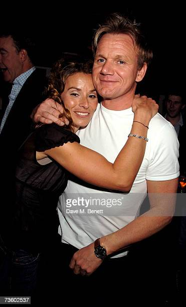 Tana and Gordon Ramsay attend private party at Ronnie Scott's hosted by Gary Farrow on March 15 2007 in London England