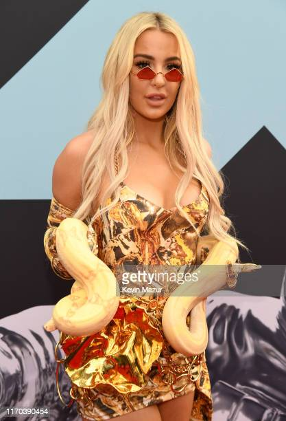 Tana Mongeau attends the 2019 MTV Video Music Awards at Prudential Center on August 26 2019 in Newark New Jersey