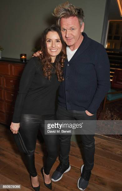 Tana Ramsay and Gordon Ramsay attend Alexander Dundas's 18th birthday party hosted by Lord and Lady Dundas on December 16 2017 in London England
