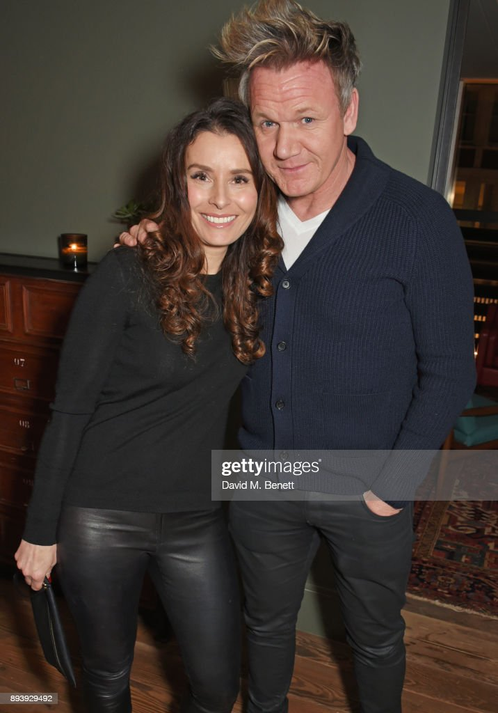 Tana Ramsay (L) and Gordon Ramsay attend Alexander Dundas's 18th birthday party hosted by Lord and Lady Dundas on December 16, 2017 in London, England.