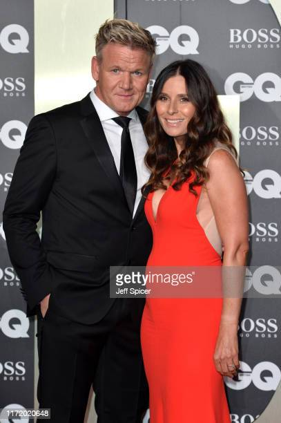 Tana Ramsay and Gordon Ramsay attend the GQ Men Of The Year Awards 2019 at Tate Modern on September 03 2019 in London England