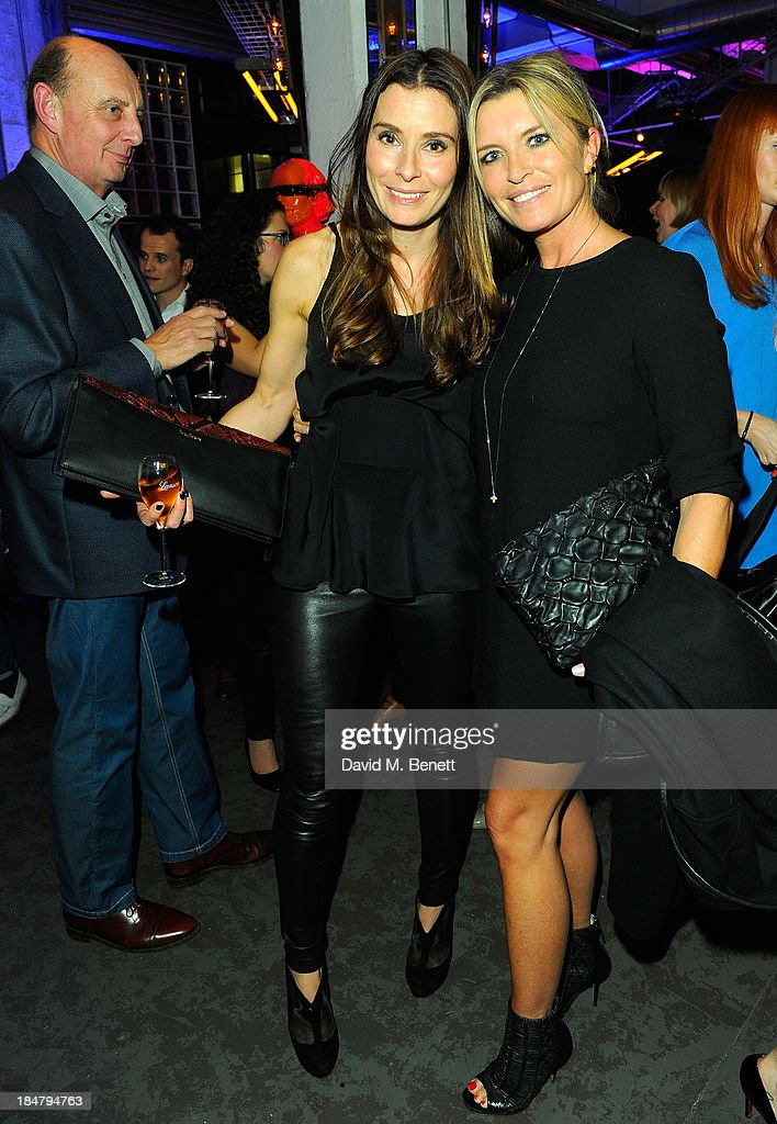 Tana Ramsay (L) and Tina Hobley attend Gordon Ramsay's Union Street Cafe in Southwak on October 16, 2013 in London, England.