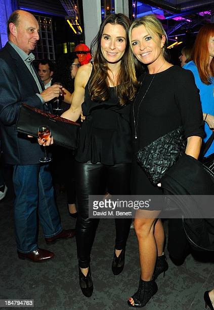 Tana Ramsay and Tina Hobley attend Gordon Ramsay's Union Street Cafe in Southwak on October 16 2013 in London England