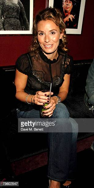 Tana Ramsay attends private party at Ronnie Scott's hosted by Gary Farrow on March 15 2007 in London England