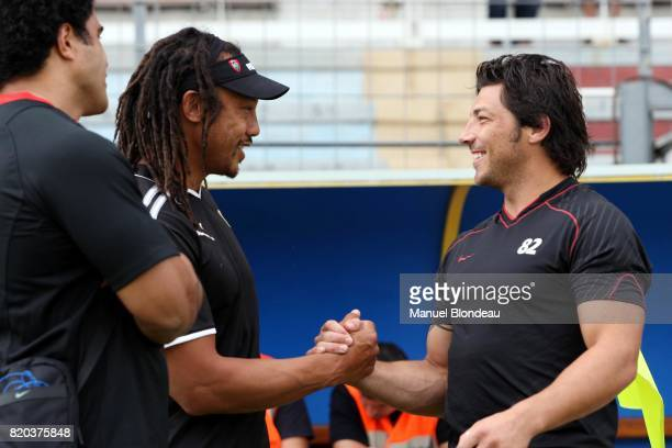 Tana UMAGA / Byron KELLEHER RC Toulon / Stade Toulousain Match amical